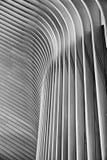 Résumé architectural à New York City en noir et blanc Photos libres de droits