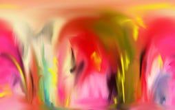 Résumé Art Peinture dessin Abstraction illustration illustration de vecteur