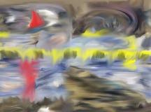 Résumé Art Peinture dessin Abstraction illustration illustration libre de droits