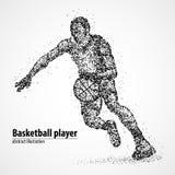 Résumé, basket-ball, athlète Photos stock