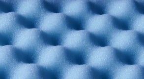 Résumé bleu de surface de la mousse d'éponge Photographie stock libre de droits