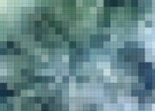 Résumé carré bleu et vert Images libres de droits