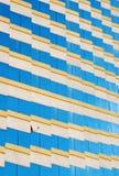 Résumé de fenêtre du bâtiment de vintage Images libres de droits
