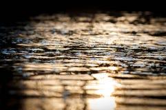 Résumé de la surface de l'eau Images libres de droits