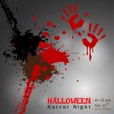 Résumé de nuit de Halloween Image libre de droits
