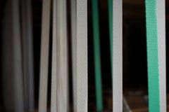 Résumé des courroies en nylon photographie stock libre de droits
