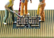 Résumé, fin aux circuits électroniques, nous voyons la technologie du mainboard, qui est le fond important du comput photo libre de droits