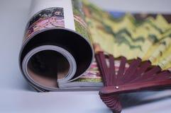 Résumé - magazine Photographie stock libre de droits