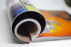 Résumé - magazine Image libre de droits