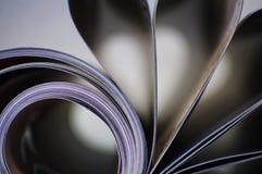 Résumé - magazine Image stock