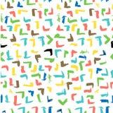 Résumé sans couture Pale Vintage Color Scribble du filet jaune et d'orrange grand Mark Pattern pour le fond, enveloppe de papier, illustration libre de droits