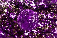 Résumé ultra Violet Disco Ball