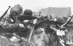 Rétablissement de la deuxième guerre mondiale Blyth, le Northumberland, Angleterre 16 05 2013 Images stock