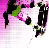 Rétablissement de planche à roulettes Images libres de droits
