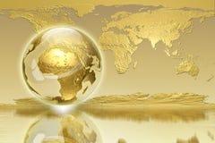 Rétablissement global - édition d'affaires Photographie stock