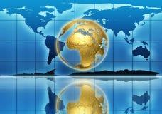 Rétablissement global Images stock
