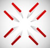 Réticule, symbole de marque de cible Escroquerie alignez, de précision ou d'exactitude illustration libre de droits