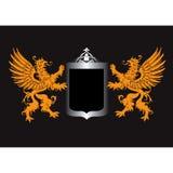 Rétro écran protecteur royal Photographie stock libre de droits