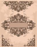 Rétro éléments de conception illustration stock