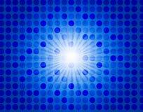 Rétro étoile-éclatez le fond Images stock