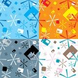 Rétro étoile multi illustration libre de droits