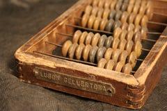 Rétro abacus-2 Photographie stock libre de droits
