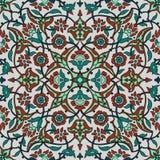 Rétro abrégé sur sans couture papier peint oriental stylisé de fleurs Images stock