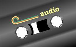 Rétro acoustique Photographie stock