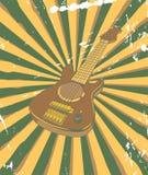 Rétro affiche de concert Images stock