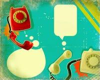 Rétro affiche de transmission illustration libre de droits