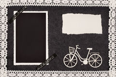 Rétro album de vélo Images libres de droits
