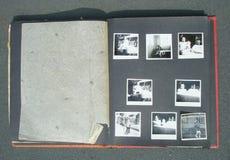 Rétro album photos Image stock