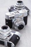 Rétro appareil-photo Images libres de droits