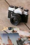 Rétro appareil-photo image libre de droits