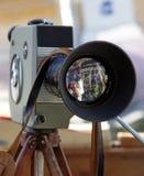 Rétro appareil-photo de film Image libre de droits