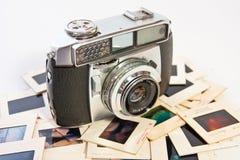 Rétro appareil-photo de film Image stock