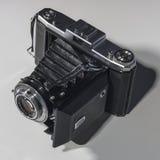 Rétro appareil-photo de pliage image stock