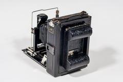 Rétro appareil-photo de pliage images libres de droits