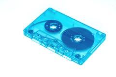 Rétro au néon à la mode de bande de cassette sonore d'isolement image stock