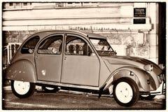 Rétro automobile photographie stock