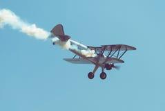 Rétro avion Photos libres de droits