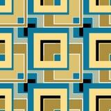 Rétro backgroun de places de texture sans couture moderne abstraite de modèle Image libre de droits