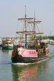 Rétro bateau de conception Photographie stock