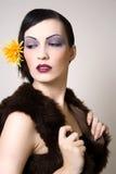 Rétro beauté Images stock