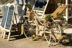 Rétro bicyclette Images libres de droits