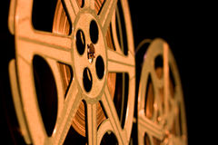 Rétro bobines de film Photo libre de droits