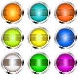 Rétro boutons Photos libres de droits