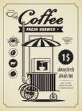 Rétro café Photographie stock