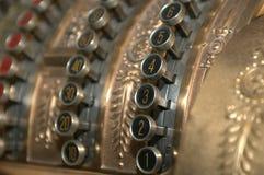 Rétro caisse comptable Image libre de droits