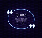 Rétro calibre de cadre de VECTEUR de citation de hippie, fond de mur de briques et boîte de citation d'éclat illustration libre de droits